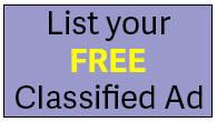 List your free classified ad