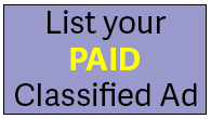 List your paid classified ad